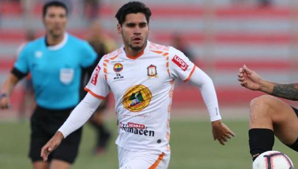 Diego Minaya completó 25 partidos como titular con Ayacucho FC durante el 2020. (Foto: GEC / Liga 1)