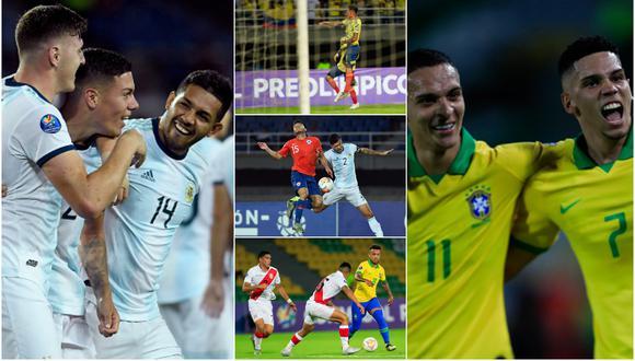 Tabla de posiciones del Preolímpico Sub 23 EN VIVO: último cupos con el Colombia vs. Chile y Perú vs. Bolivia. (Getty)