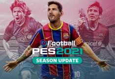 PES 2021: primera tanda de goles del nuevo juego de Konami