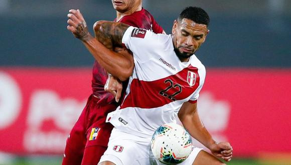 Callens volvió a ser titular con la Selección Peruana. (Foto: GEC)