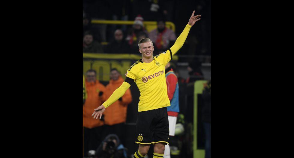 ¿Venderá el Borussia Dortmund a Erling Haaland? ¿En cuánto? (Foto: AFP)