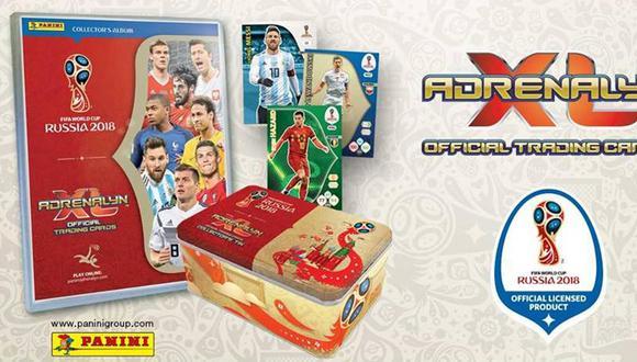 Sigue la pasión: Panini venderá Trading Cards coleccionables del Mundial Rusia 2018 . (Panini)