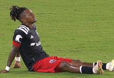 A contados días del Perú vs. Chile: Yordy Reyna se lesionó jugando por DC United en la MLS