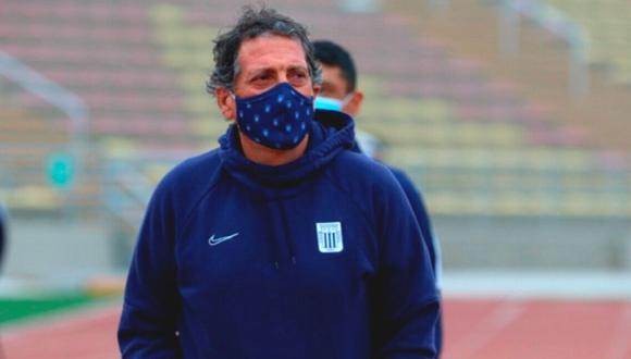 Mario Salas dejó Alianza Lima en noviembre del 2020. (Foto: Liga 1)