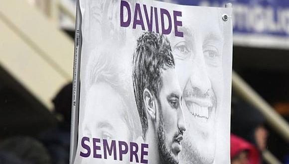 Davide Astori falleció en el 2018 mientras dormía en una concentración de la Fiorentina. (Foto: AFP)
