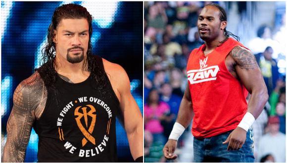 Roman Reigns recordó anécdota que tuvo Shad Gaspard durante sus inicios como luchador de WWE. (WWE)