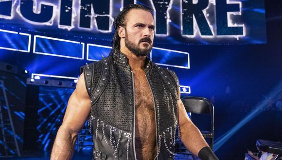 Drew McIntyre, campeón de WWE, dio positivo por coronavirus. (Foto: WWE)
