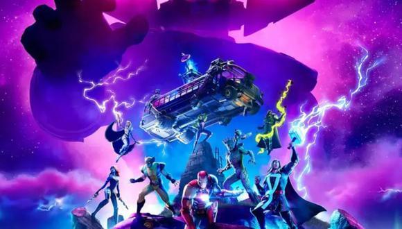 Fortnite: ¿Galactus atacará en el evento final de la temporada 4? (Foto: Epic Games)