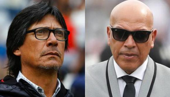 Ángel Comizzo y Roberto Mosquera se volverán a ver las caras este viernes. (GEC)
