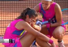 Amor al Fair Play: la reacción de Azarenka luego de lesión y llanto de rival hace estallar las redes sociales [VIDEO]
