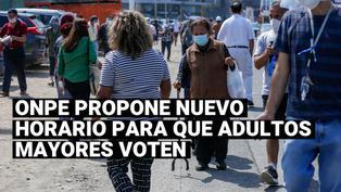 Elecciones 2021:ONPErecomendará a adultos mayores votar de 2 a 4 de la tarde durante la segunda vuelta