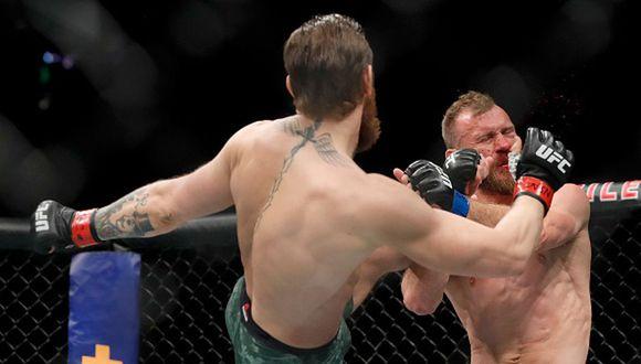 McGregor vs. Cerrone: el irlandés se hizo de la pelea por el peso welter de la categoría. (Getty)