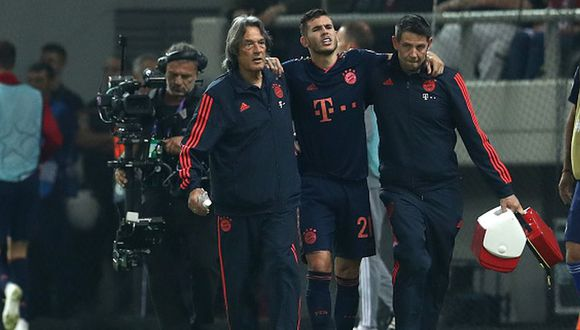 Lucas Hernández llegó a Bayern Munich esta temporada procedente del Real Madrid. (Getty)
