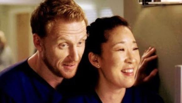 En Grey´s Anatomy los actores Sandra Oh y Kevin McKidd dieron vida a Cristina Yang  y Owen Hunt (Foto: ABC)