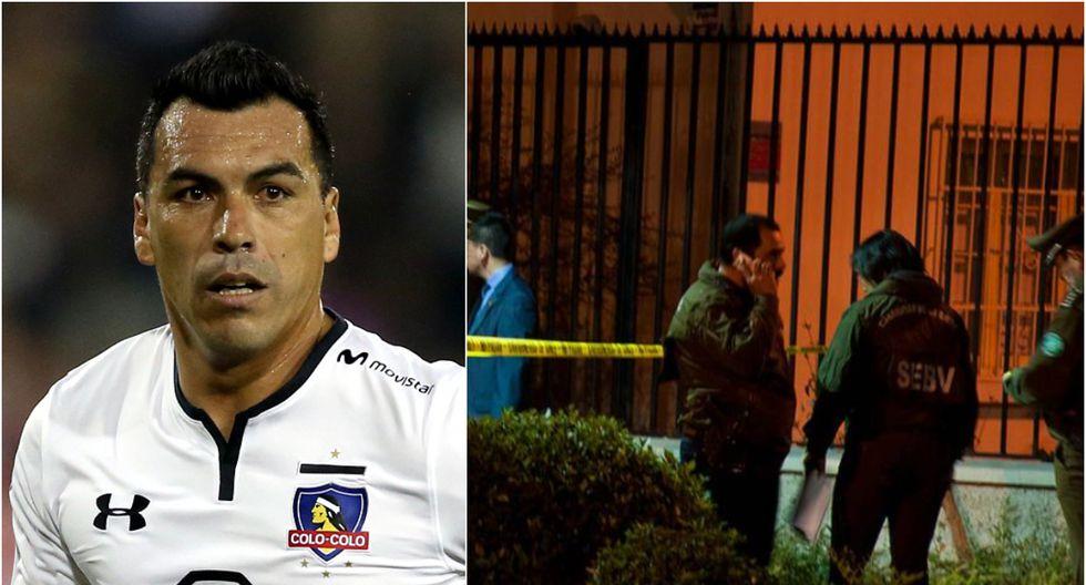 Esteban Paredes es delantero y juega actualmente en Colo Colo de la Primera División de Chile. (Foto: Collage/Twitter)