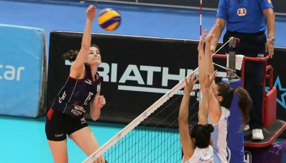 La Universidad San Martín lidera la clasificación de la Liga Nacional Superior de Vóley con 16 puntos. (Foto: FPV)