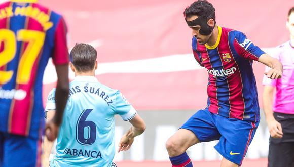 Barcelona cayó 2-1 ante Celta de Vigo y se despidió de la Liga Santander
