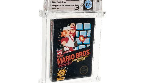 """Nintendo bate nuevo récord mundial con la venta de """"Super Mario Bros."""" por US$114 mil"""