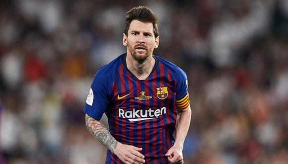 Lionel Messi debutó oficialmente el Barcelona en la temporada 2004, (Getty)