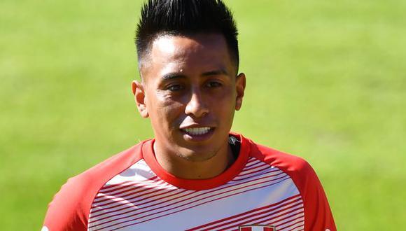 Christian Cueva continuará su carrera en el fútbol turco. (Foto: AFP)