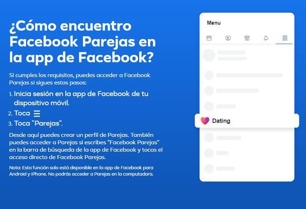 Facebook Aplica? ie Dating Site