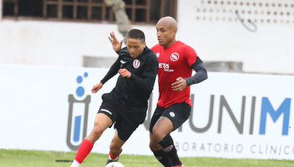 Universitario y Boys se enfrentan en un partido amistoso. (GEC)