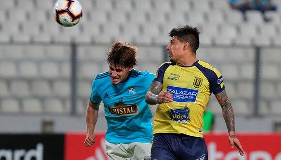Sporting Cristal consiguió su primera victoria en la Copa Libertadores 2019. | EFE