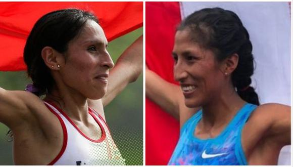 Gladys Tejeda y Jovana De la Cruz compitieron en el maratón femenino de los Juegos de Tokio 2020. (Foto: IPD)