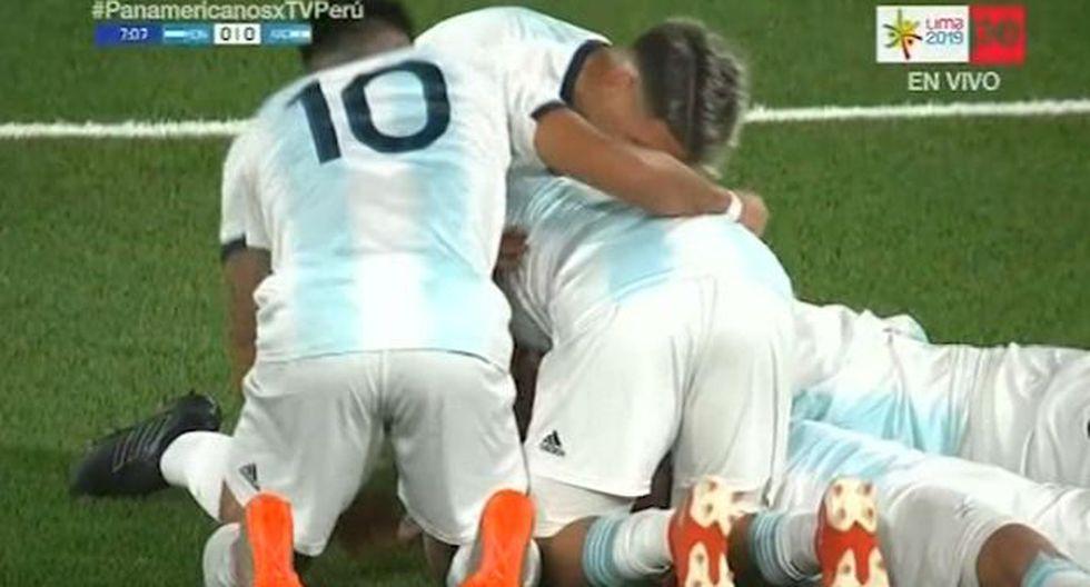 Argentina vs. Honduras EN VIVO: GOL Urzi para el 1-0 por Panamericanos Lima 2019. (TV Perú)