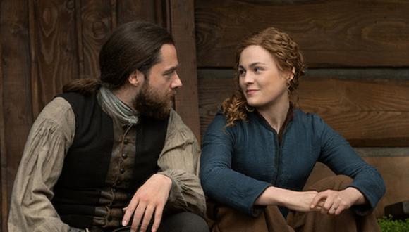 """¿Qué pasará con Brianna y Roger en la sexta temporada de """"Outlander""""? (Foto: Starz)"""