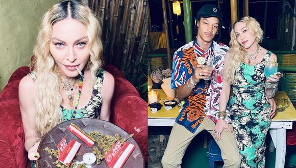 Madonna muestra en Instagram cómo celebró su cumpleaños en Jamaica. (Foto: @madonna)