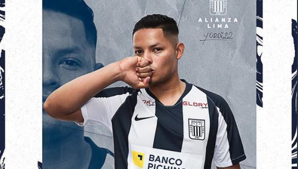 Yordi Vílchez se refirió a su llegada a Alianza Lima. (Foto: Alianza Lima)