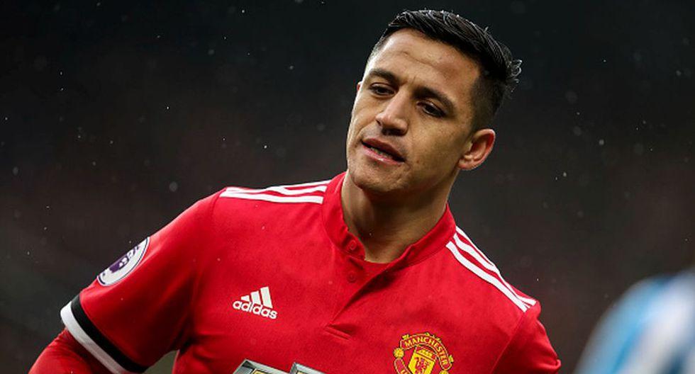 Alexis Sánchez llegó al Manchester United desde el Arsenal. (Getty)
