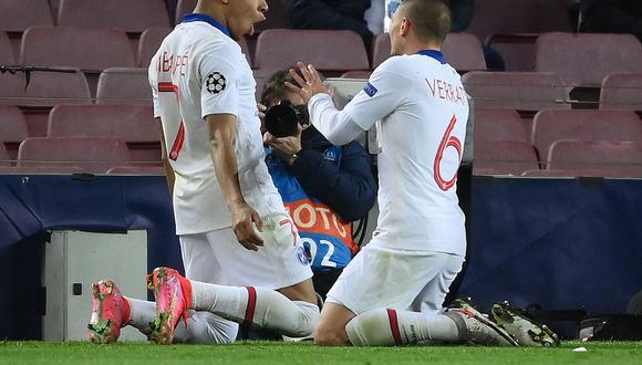 Con dos goles de Kylian Mbappé, PSG vence 3-1 a Barcelona en el Camp Nou. El partido se transmite vía ESPN y Depor te trae todos los detalles del partido de hoy. (Foto: AFP)