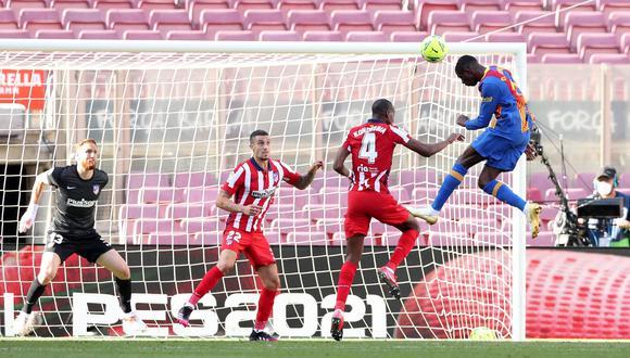 Barcelona y Atlético de Madrid empataron 0-0 en LaLiga. (Reuters)