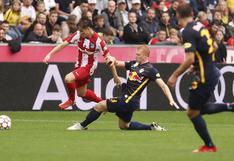 Cayó el campeón: Atlético de Madrid no pudo frente al Salzburgo en Austria