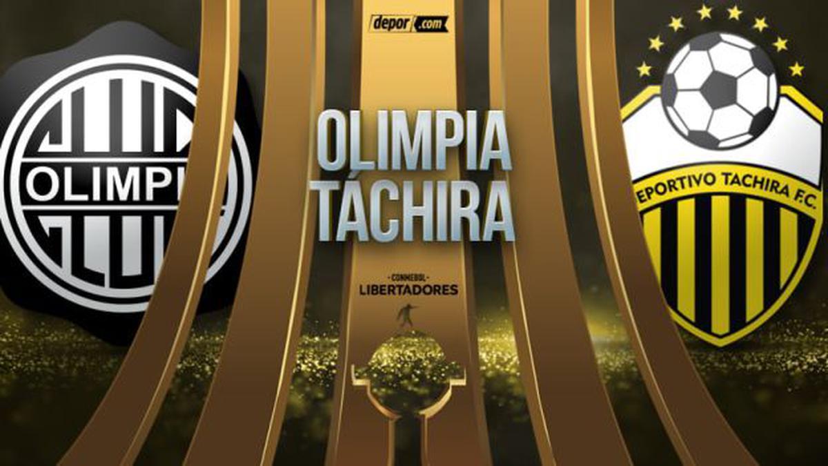 VER HOY Olimpia vs. Táchira EN VIVO DIRECTO ONLINE GRATIS STREAMING en  Paraguay por la jornada 6 de la Copa Libertadores 2021: minuto a minuto e  incidencias del partido | FUTBOL-INTERNACIONAL | DEPOR