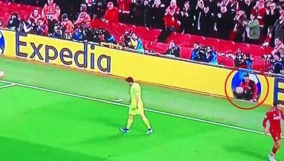 Barcelona vs. Liverpool: Oakley Cannonier es recogebolas de Anfield. (Fox Sports)