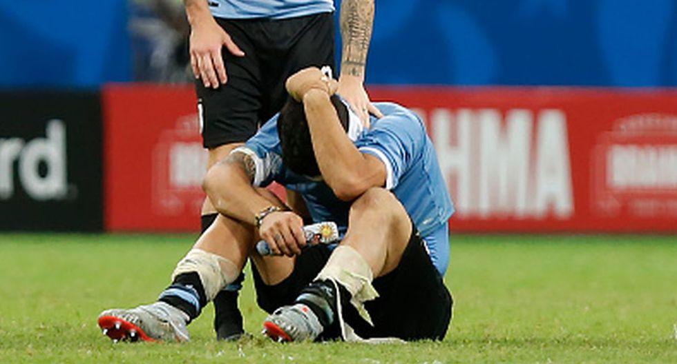 Perú vs. Uruguay: Luis Suárez rompió en llanto tras fallar un penal clave en la definición por la Copa América (Foto: Getty Images)