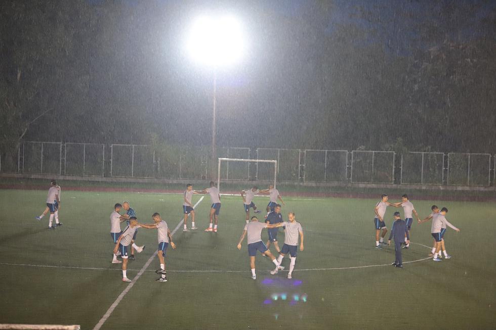 Así fueron los entrenamientos de los íntimos  en Moyobamba. (Foto: Alianza Lima)