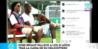 Deportistas del mundo lloran a Kobe Bryant