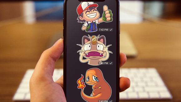 En Telegram puedes descargar un pack de stickers de Pokémon GO. (Foto: Depor)