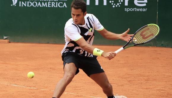 Juan Pablo Varillas avanzó a cuartos de final del Challenger de Santiago II. (Foto: KC Media)