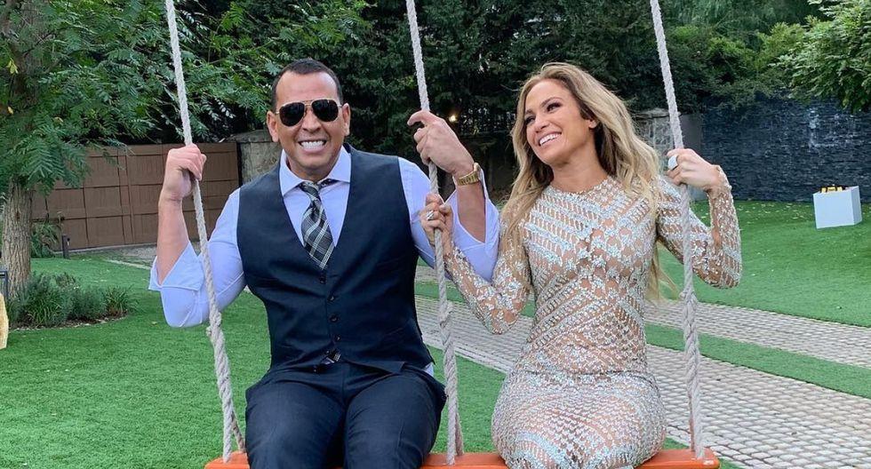 """Jennifer Lopez sorprende a Álex Rodríguez con """"el mejor regalo del mundo"""". (Foto: @arod)"""