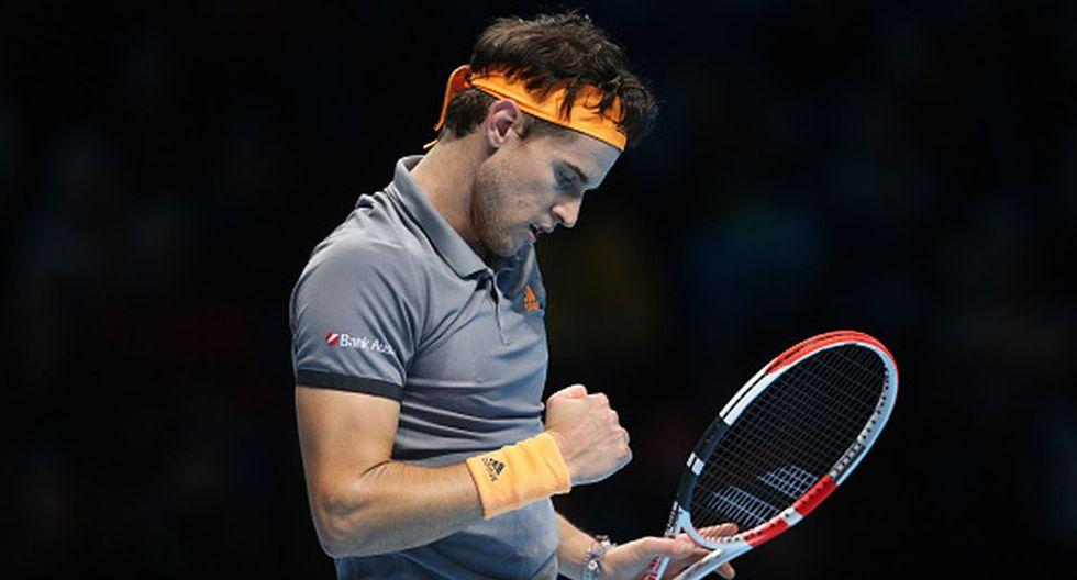 Dominic Thiem se ubica en el quinto puesto de la ATP. (Getty Images)