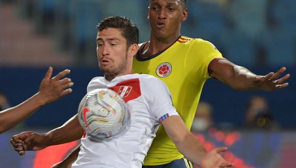 Santiago Ormeño jugó ante Colombia en el último partido de Copa América de la Selección Peruana. (Foto: FPF)