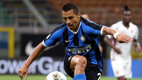 Alexis Sánchez continuará en el Inter de Milán. (Foto: EFE)