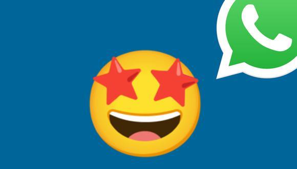 ¿Alguna vez alguien te mandó este emoji de cara sonriente con ojos de estrella? Conoce qué es lo que quiso decirte en WhatsApp. (Foto: Mag)