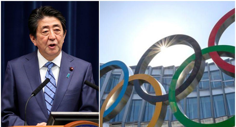 Shinzō Abe tuvo que dar un paso atrás por las presiones de deportistas y de federaciones. (Foto: Getty Images/ Telemundo Deportes)