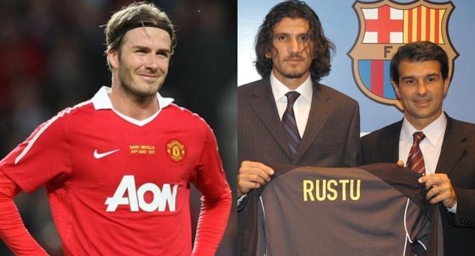 Todo por los votos: el día que Laporta anunció fichaje de Beckham en Barcelona y terminó presentando a Rustu